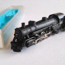 Trenes Escala: ATLAS RIVAROSSI N LOCOMOTORA VAPOR CON TENDER. COMO NUEVA. EN CAJA.VÁLIDA IBERTREN 2N,ROCO,FLEISCHMA. Lote 151655066