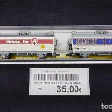 Trenes Escala: MINITRIX 15607 SBB CFF HULIMANN SCHLOSSGOLD ESC. N. Lote 151807478
