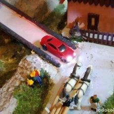 Trenes Escala: LOTE DE 15 COCHES ESCALA N CON LUCES LED. Lote 152445950