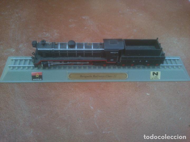 LOCOMOTORA ANGOLA BENGUELA RAILWAYS CLASS II , ESCALA N. 1-160 PEANA ESTATICA DEL PRADO (Juguetes - Trenes Escala N - Otros Trenes Escala N)