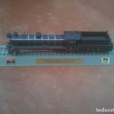 Trenes Escala: LOCOMOTORA ANGOLA BENGUELA RAILWAYS CLASS II , ESCALA N. 1-160 PEANA ESTATICA DEL PRADO . Lote 153147458