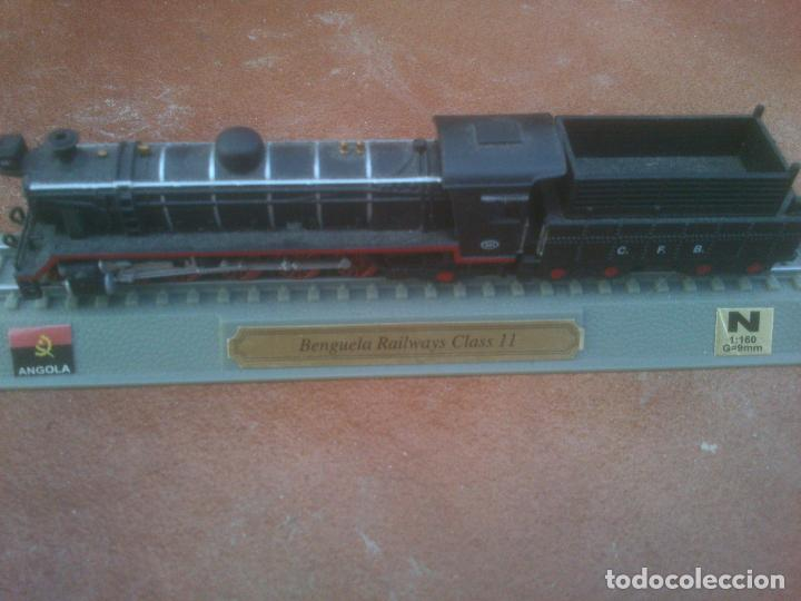 Trenes Escala: Locomotora Angola benguela railways class II , escala N. 1-160 peana estatica del prado - Foto 2 - 153147458