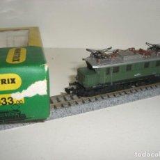 Trenes Escala: MINITRIX N LOCOMOTORA ELÉCTRICA 2033(CON COMPRA DE 5 LOTES O MAS ENVÍO GRATIS). Lote 153694178