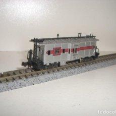 Trenes Escala: ATLAS N CERRADO 4 EJES AMERICANO (CON COMPRA DE 5 LOTES O MAS ENVÍO GRATIS). Lote 153695158