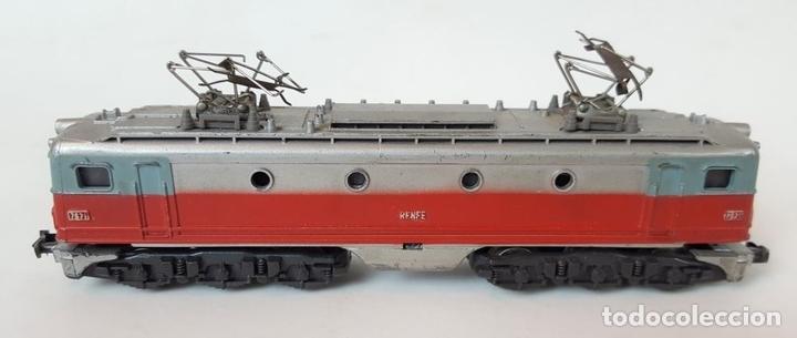 Trenes Escala: EXCEPCIONAL LOTE DE LOCOMOTORAS Y VAGONES. VARIAS MARCAS. ESC N. CIRCA 1970. - Foto 5 - 153828938