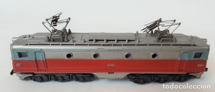 Trenes Escala: EXCEPCIONAL LOTE DE LOCOMOTORAS Y VAGONES. VARIAS MARCAS. ESC N. CIRCA 1970. - Foto 6 - 153828938