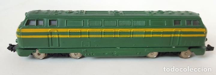 Trenes Escala: EXCEPCIONAL LOTE DE LOCOMOTORAS Y VAGONES. VARIAS MARCAS. ESC N. CIRCA 1970. - Foto 11 - 153828938