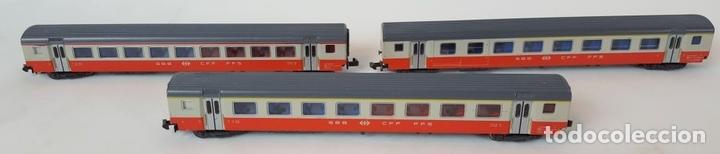 Trenes Escala: EXCEPCIONAL LOTE DE LOCOMOTORAS Y VAGONES. VARIAS MARCAS. ESC N. CIRCA 1970. - Foto 20 - 153828938