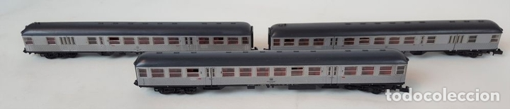 Trenes Escala: EXCEPCIONAL LOTE DE LOCOMOTORAS Y VAGONES. VARIAS MARCAS. ESC N. CIRCA 1970. - Foto 22 - 153828938