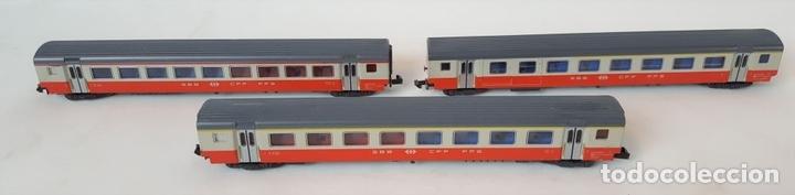 Trenes Escala: EXCEPCIONAL LOTE DE LOCOMOTORAS Y VAGONES. VARIAS MARCAS. ESC N. CIRCA 1970. - Foto 23 - 153828938
