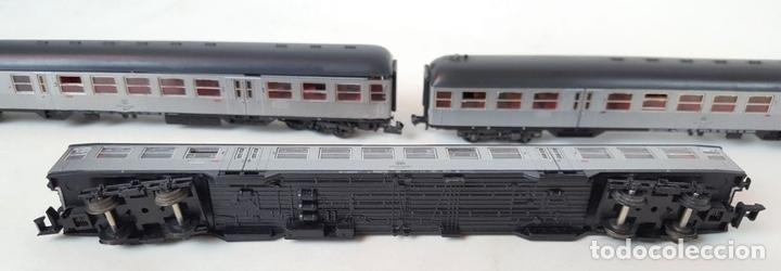Trenes Escala: EXCEPCIONAL LOTE DE LOCOMOTORAS Y VAGONES. VARIAS MARCAS. ESC N. CIRCA 1970. - Foto 24 - 153828938