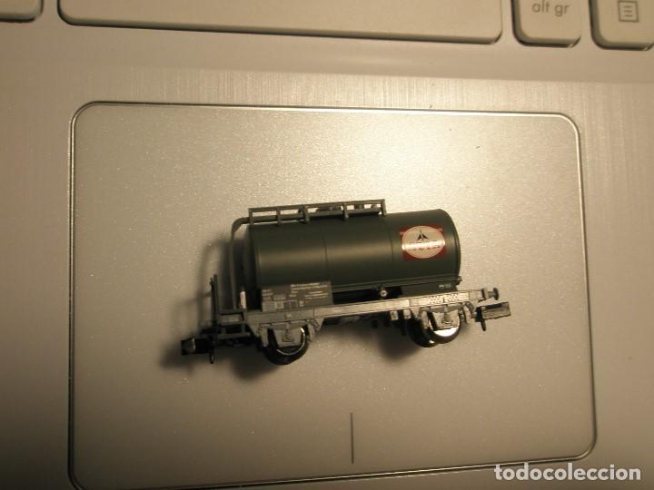 Trenes Escala: 1 UN VAGON TRIX N CISTERNA DE COMBUSTIBLE NUEVO A ESTRENAR NUNCA JUGADO EN VIA - Foto 3 - 154473734