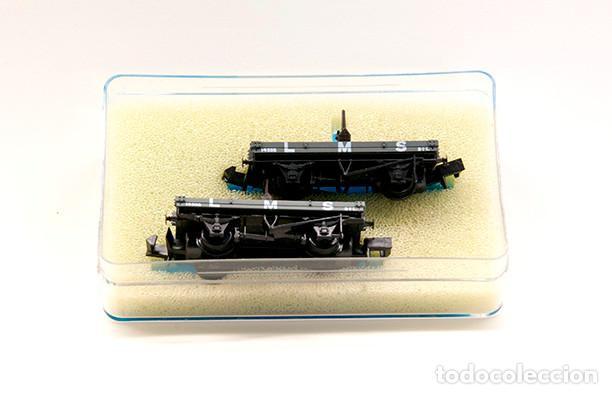 Trenes Escala: Peco N Ref. NR-P959. 2 unidades. La industria electrica Barcelona. Edición limitada - Foto 2 - 154660042