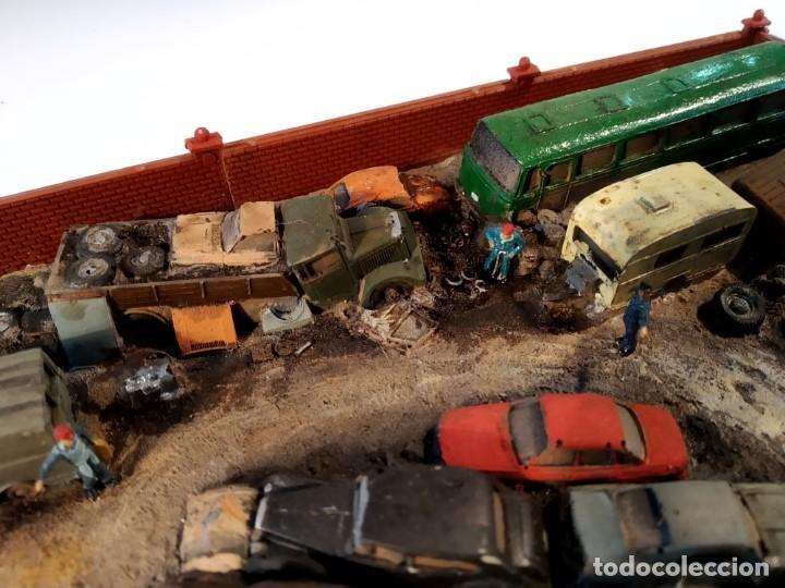 Trenes Escala: Diorama POLA de un desguace en escala N - Foto 13 - 155404946