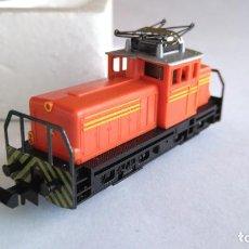 Trenes Escala: TRIX MINITRIX LOCOMOTORA TRACTOR DE MANIOBRAS, VÁLIDO IBERTREN 2N. Lote 155507950