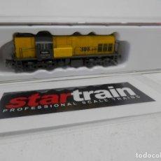 Trenes Escala: LOCOMOTORA DIESEL RENFE TECSA SERIE 308-018.1 ESCALA N DE STARTRAIN . Lote 156872882