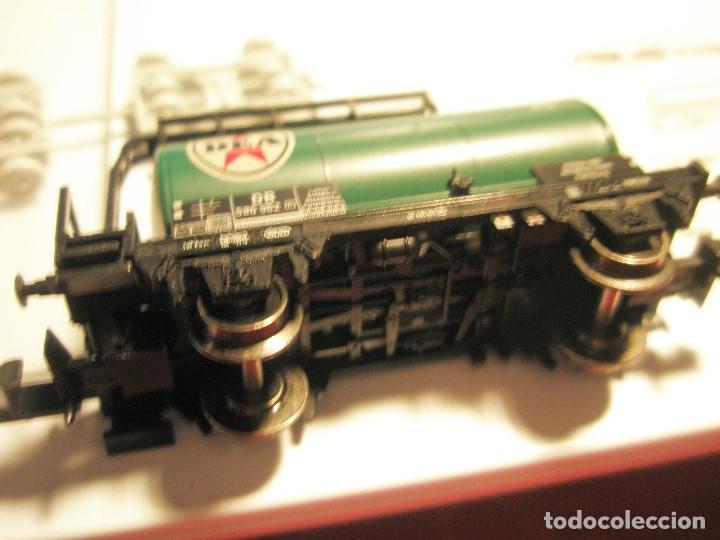 Trenes Escala: SET NUEVO TRIX N CISTERNA + CAMIONETA METALICA + REMOLQUE METALICO REF: 15.124 LIMITADO INSAIDER. - Foto 20 - 158448702