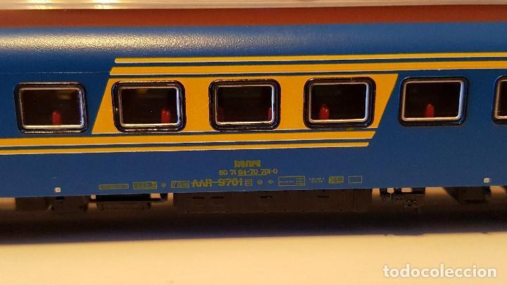 Trenes Escala: RENFE COCHE ESCALA N SERIE AAR 9.700 CAFETERÍA HISPATREN NºREF.9603-01 - Foto 2 - 158555570