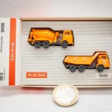 Trenes Escala: MB Y MAGIRUS OBRA WIKING 1/160 (N). Lote 166917528