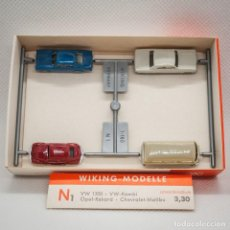 Trenes Escala: COCHES WIKING 1/160 (N). Lote 166920004