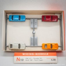 Trenes Escala: COCHES WIKING 1/160 (N). Lote 166920524