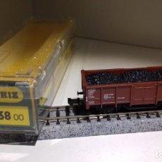 Trenes Escala: MINITRIX N BORDE ALTO CARBÓN 3538 (CON COMPRA DE 5 LOTES O MAS, ENVÍO GRATIS). Lote 167845256