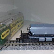 Trenes Escala: MINITRIX N TOLVA GRIS 3509 (CON COMPRA DE 5 LOTES O MAS, ENVÍO GRATIS). Lote 168843536