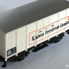 Trenes Escala: TRIX N VAGÓN CARGA CERRADO, VÁLIDO IBERTREN,TRIX,ROCO,FLEISCHMANN,ETC. Lote 169088044