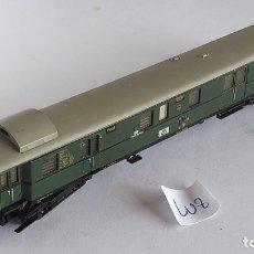 Trenes Escala: TRIX N VAGÓN FURGÓN POSTAL, CON LUZ, VÁLIDO IBERTREN 2N,ROCO,FLEISCHMANN ETC. Lote 169089468
