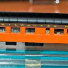 Trenes Escala: COCHE DE VIAJEROS 6 EJES OBSERVACIÓN PAISAJE MILWAUKEE ROAD DE RIVAROSSI. ESCALA N, VÁLIDO IBERTREN. Lote 169450988