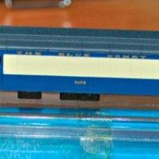 Trenes Escala: COCHE DE VIAJEROS 6 EJES COMBINADO BLUE COMET DE RIVAROSSI. ESCALA N, VÁLIDO IBERTREN. Lote 169452236