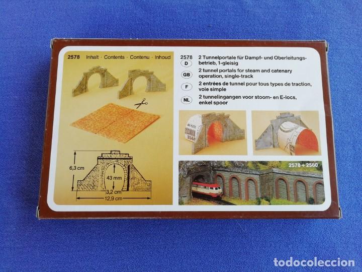 Trenes Escala: Dos puertas de túnel Faller N 2578. Como se muestra en las fotos. - Foto 3 - 169992248