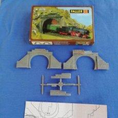 Trenes Escala: DOS PUERTAS DE TÚNEL FALLER N 2579. COMO SE MUESTRA EN LAS FOTOS.. Lote 169993836