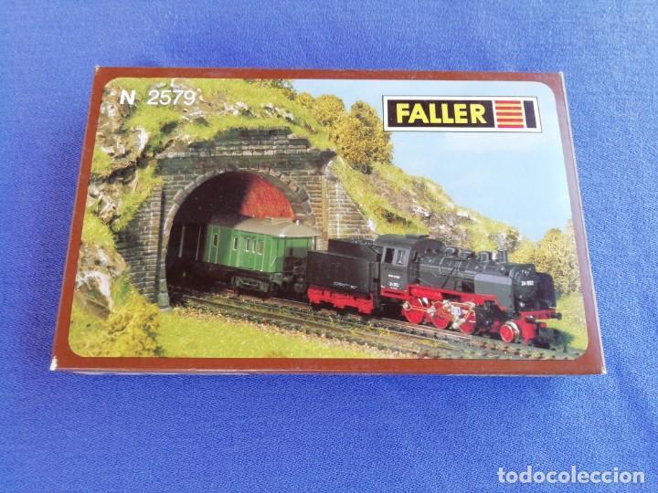 Trenes Escala: Dos puertas de túnel Faller N 2579. Como se muestra en las fotos. - Foto 2 - 169993836