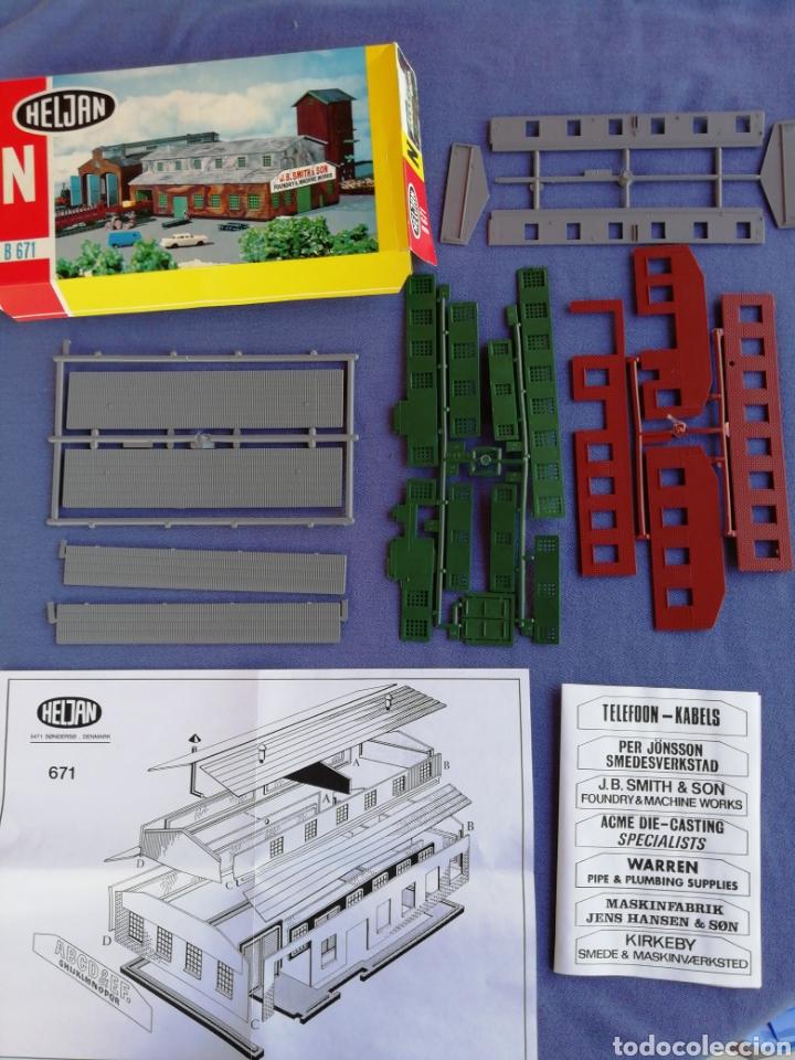 CONSTRUCCIÓN HELJAN N B 671. COMO SE MUESTRA EN LAS FOTOS (Juguetes - Trenes Escala N - Otros Trenes Escala N)
