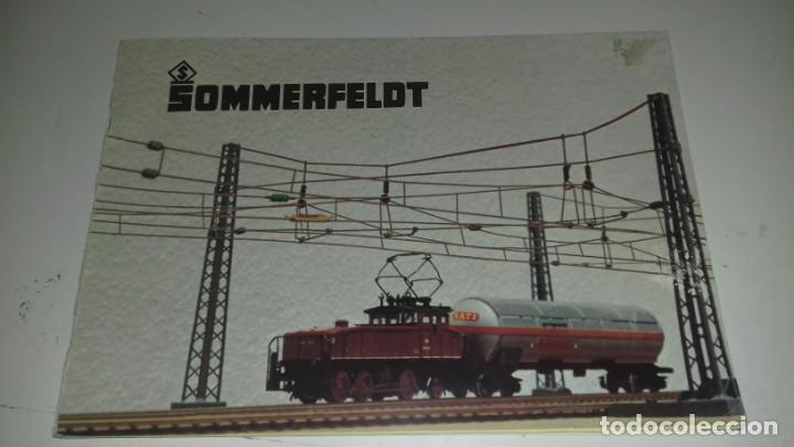 SOMMERFELDT PLANOS Y MONTAJES CATENARIAS EN ALEMÁN (CON COMPRA DE 5 LOTES O MAS ENVÍO GRATIS) (Juguetes - Trenes Escala N - Otros Trenes Escala N)