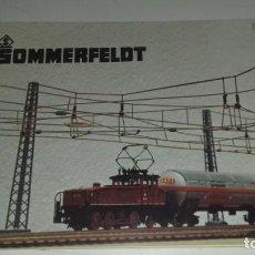 Trenes Escala: SOMMERFELDT PLANOS Y MONTAJES CATENARIAS EN ALEMÁN (CON COMPRA DE 5 LOTES O MAS ENVÍO GRATIS). Lote 170294224