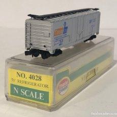 Trenes Escala: MODEL POWER N FREIGHT CAR, REFERENCIA 4028 ESCALA N. Lote 171029152