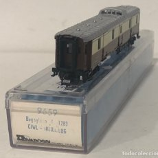 Trenes Escala: RIVAROSSI VAGÓN DE PASAJEROS, REFERENCIA 9659 ESCALA N. Lote 171163113