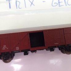 Trenes Escala: TREN ESCALA N VAGON TRIX GERMANY. Lote 172326283