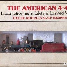 Trenes Escala: BACHMANN THE AMERICAN 4-4-0. Lote 172643800