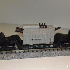 Trenes Escala: MINITRIX N TRANSPORTE PESADO 6 EJES (CON COMPRA DE 5 LOTES O MAS, ENVÍO GRATIS). Lote 173248500