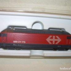 Trenes Escala: LOCOMOTORA MINITRIX ESCALA N. CON CAJA COMO NUEVA.PERFECTO ESTADO.. Lote 173623404