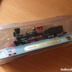 Comboios Escala: PRECIOSA LOCOMOTORA AMERICAN STANDARD 1:160. Lote 174110748