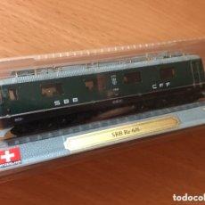 Trenes Escala: PRECIOSA LOCOMOTORA SUIZA SBB RE 6/6 1:160. Lote 174272533