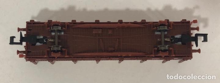 Trenes Escala: HOBBYTRAIN VAGÓN TELEROS CON TABLONES DE MADERA, REFERENCIA H23005-18 ESCALA N - Foto 6 - 174428642