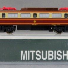 Trenes Escala: LOCOMOTORA ELÉCTRICA MITSUBISHI RENFE 269 KATO N 269 326 5 ESTRELLA MADE IN JAPAN FUNCIONA EN CAJA. Lote 175995950
