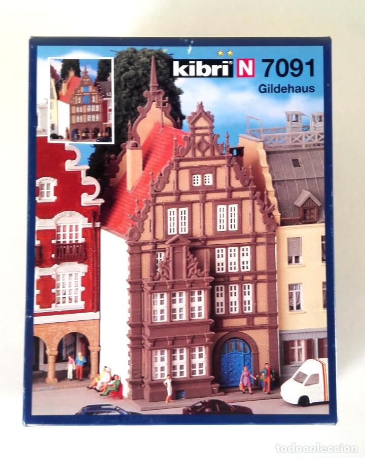 KIBRI N 7091 • GILDEHAUS • ESCALA N (KIT MODELO FERROVIARIO 12,5 X 6,5 X 8 CM) (Juguetes - Trenes Escala N - Otros Trenes Escala N)