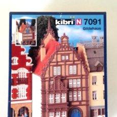 Trenes Escala: KIBRI N 7091 • GILDEHAUS • ESCALA N (KIT MODELO FERROVIARIO 12,5 X 6,5 X 8 CM). Lote 177120385