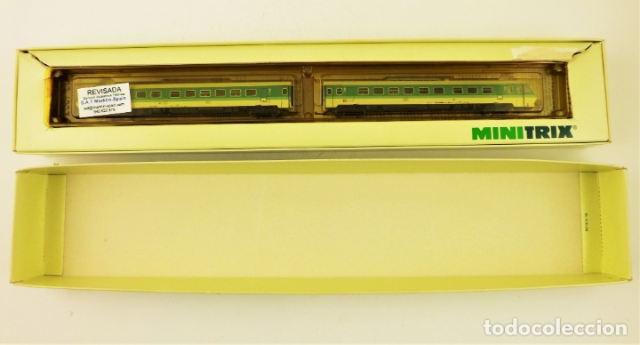MINITRIX PENDOLINO 12887 ESCALA N (Juguetes - Trenes Escala N - Otros Trenes Escala N)